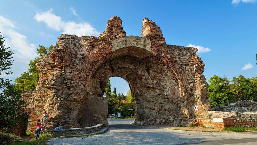 Hisarya - Roman fort