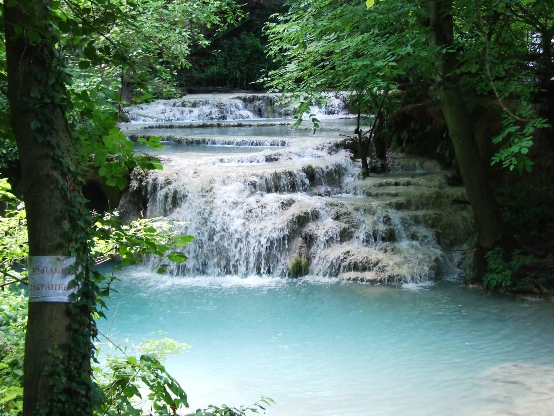 The waterfalls of Kroushuna